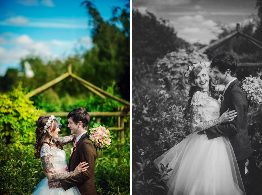 Kent Life Wedding Photographer - Tattooed Bride Tattooed Groom - Ben & Danni - Photography by Vicki_0061