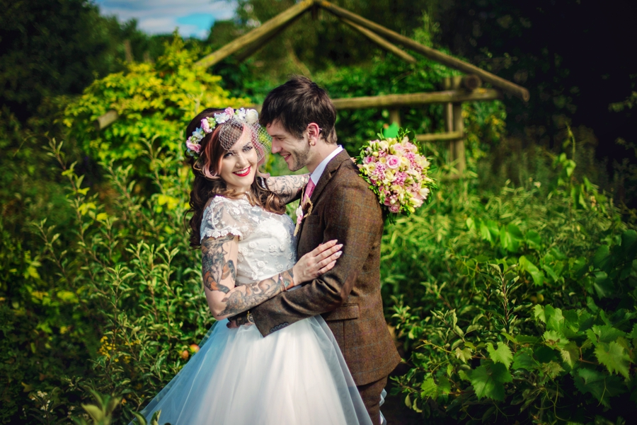 Kent Life Wedding Photographer - Tattooed Bride Tattooed Groom - Ben & Danni - Photography by Vicki_0062