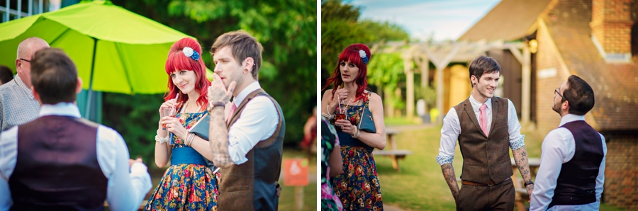 Kent Life Wedding Photographer - Tattooed Bride Tattooed Groom - Ben & Danni - Photography by Vicki_0092