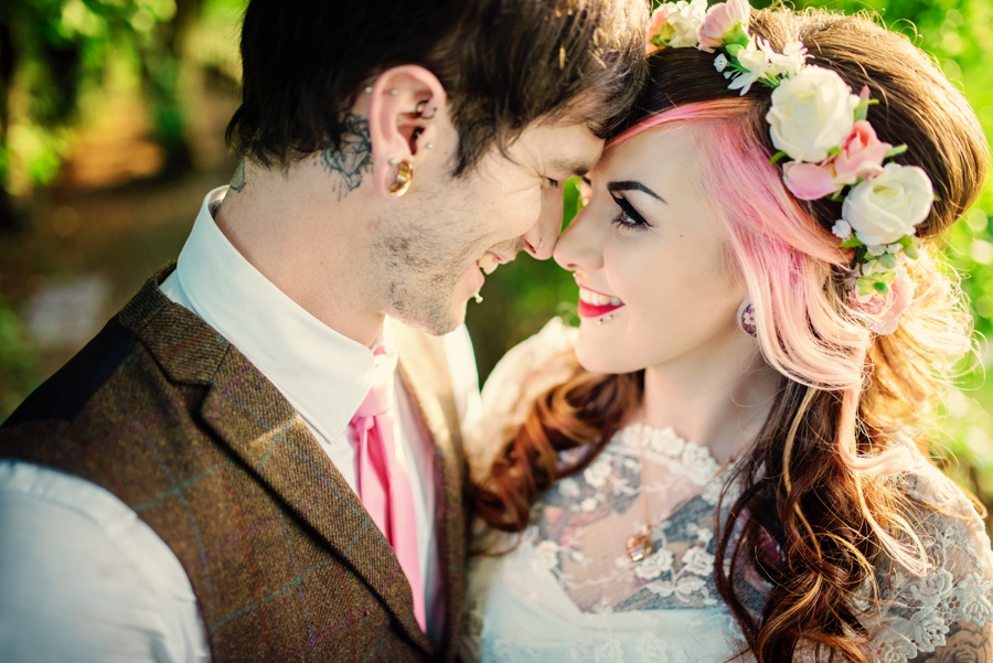 Kent Life Wedding Photographer - Tattooed Bride Tattooed Groom - Ben & Danni - Photography by Vicki_0101
