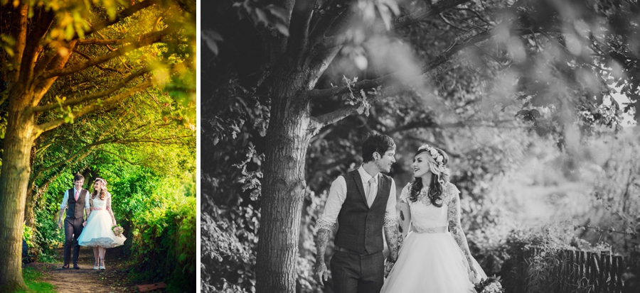 Kent Life Wedding Photographer - Tattooed Bride Tattooed Groom - Ben & Danni - Photography by Vicki_0102
