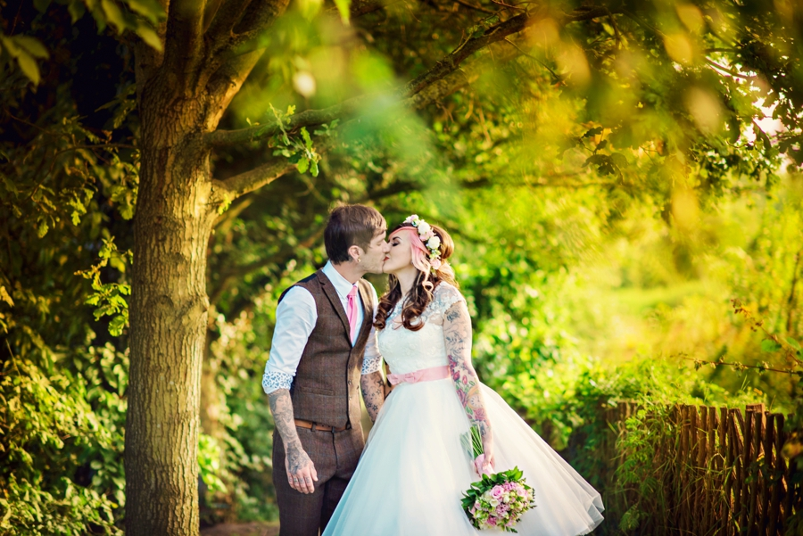 Kent Life Wedding Photographer - Tattooed Bride Tattooed Groom - Ben & Danni - Photography by Vicki_0103