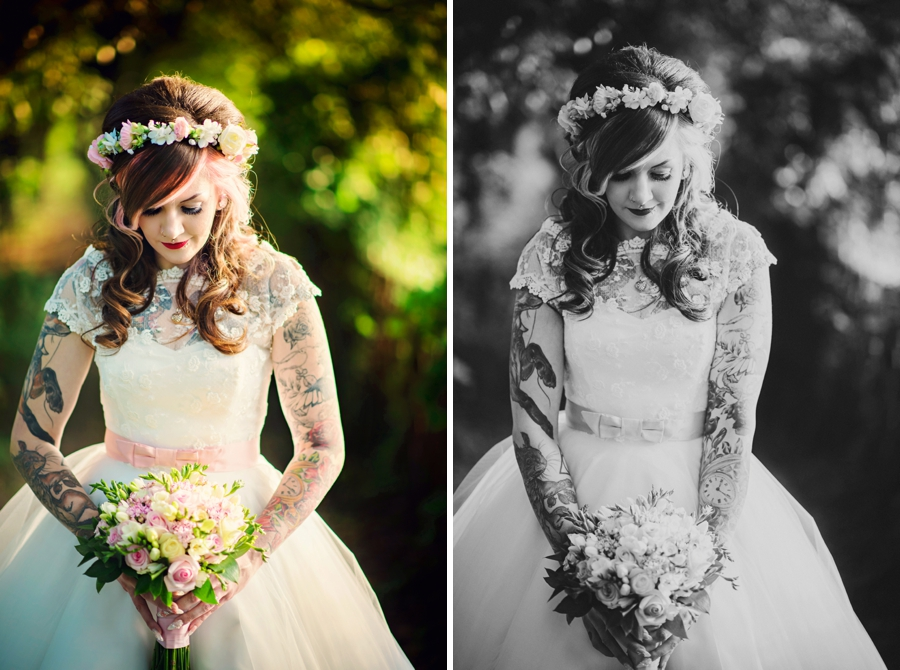 Kent Life Wedding Photographer - Tattooed Bride Tattooed Groom - Ben & Danni - Photography by Vicki_0105