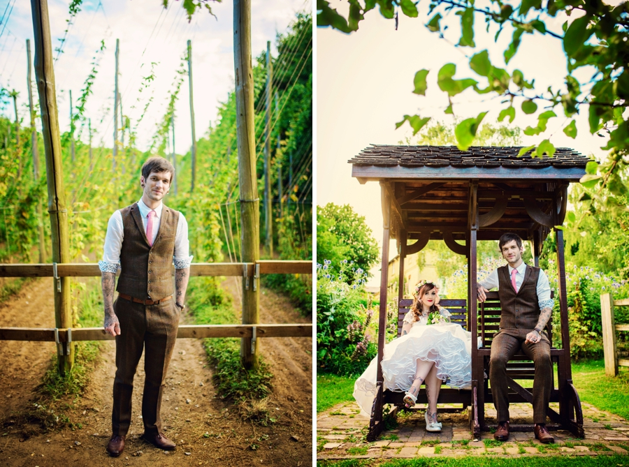 Kent Life Wedding Photographer - Tattooed Bride Tattooed Groom - Ben & Danni - Photography by Vicki_0107