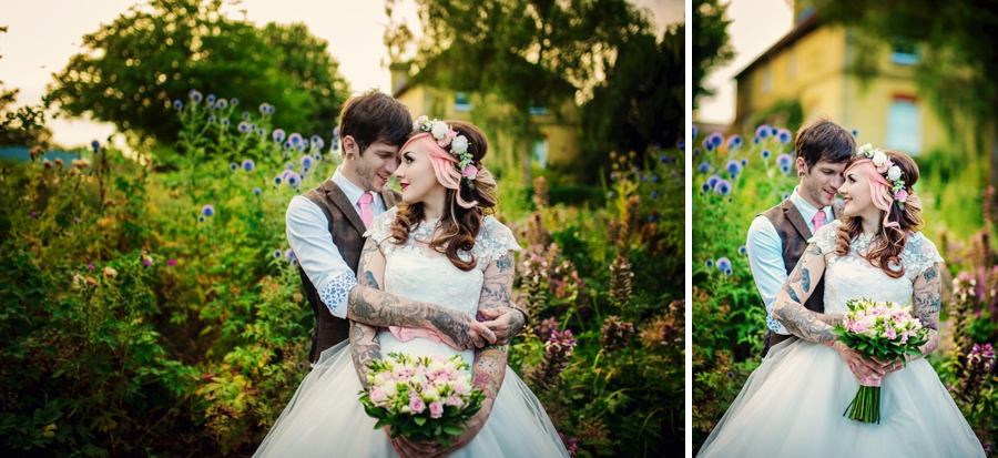 Kent Life Wedding Photographer - Tattooed Bride Tattooed Groom - Ben & Danni - Photography by Vicki_0109