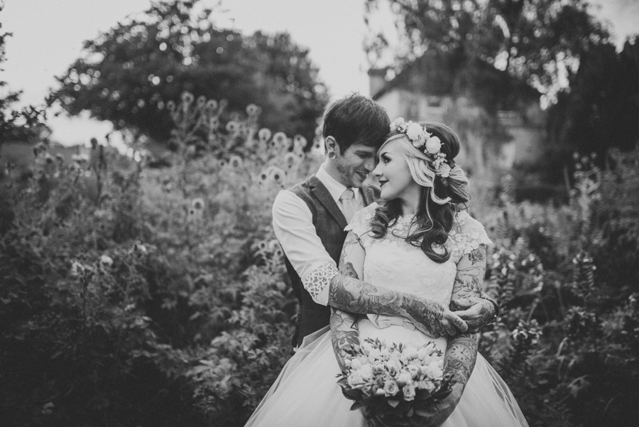Kent Life Wedding Photographer - Tattooed Bride Tattooed Groom - Ben & Danni - Photography by Vicki_0110