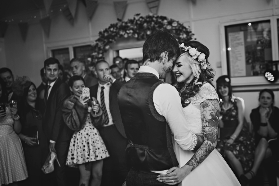 50s Wedding Photographer - Tattooed Bride Tattooed Groom - Ben & Danni - Photography by Vicki_0111