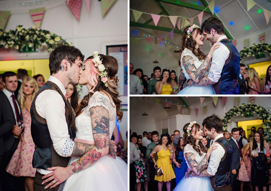 Kent Life Wedding Photographer - Tattooed Bride Tattooed Groom - Ben & Danni - Photography by Vicki_0117