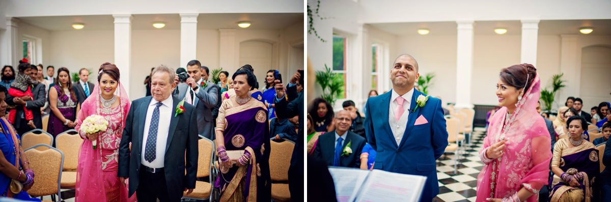 Syon Park Geat Conservatory Wedding Photographer - Edward & Khalima - Photography by Vicki_0008