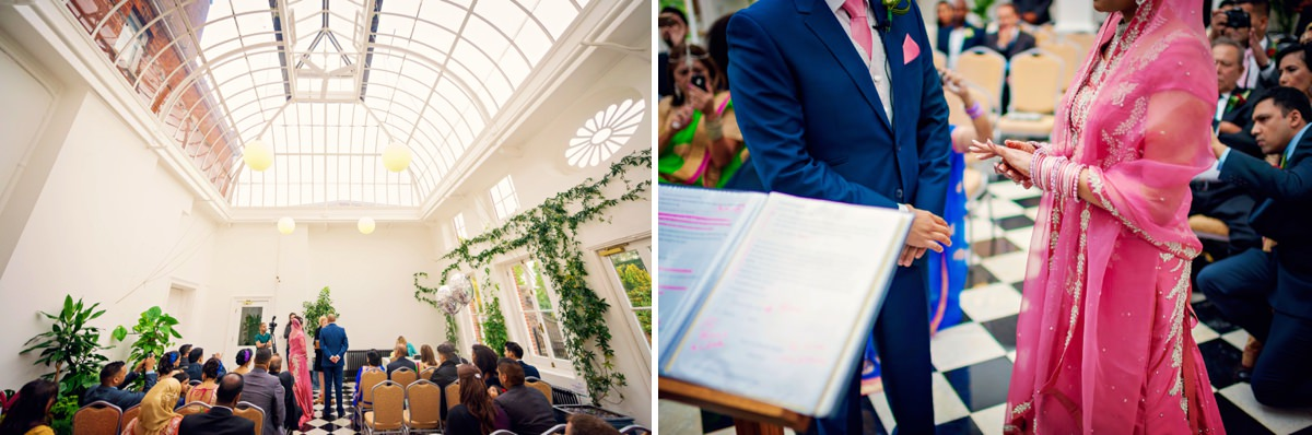 Syon Park Geat Conservatory Wedding Photographer - Edward & Khalima - Photography by Vicki_0009