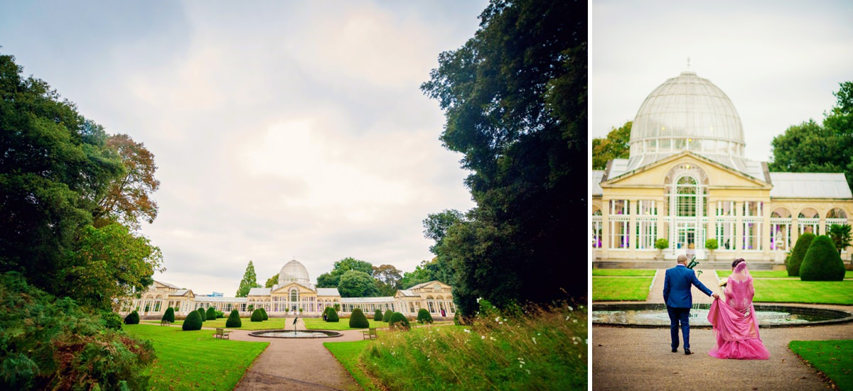 Syon Park Great Conservatory Wedding Photographer - Edward & Khalima - Photography by Vicki_0018