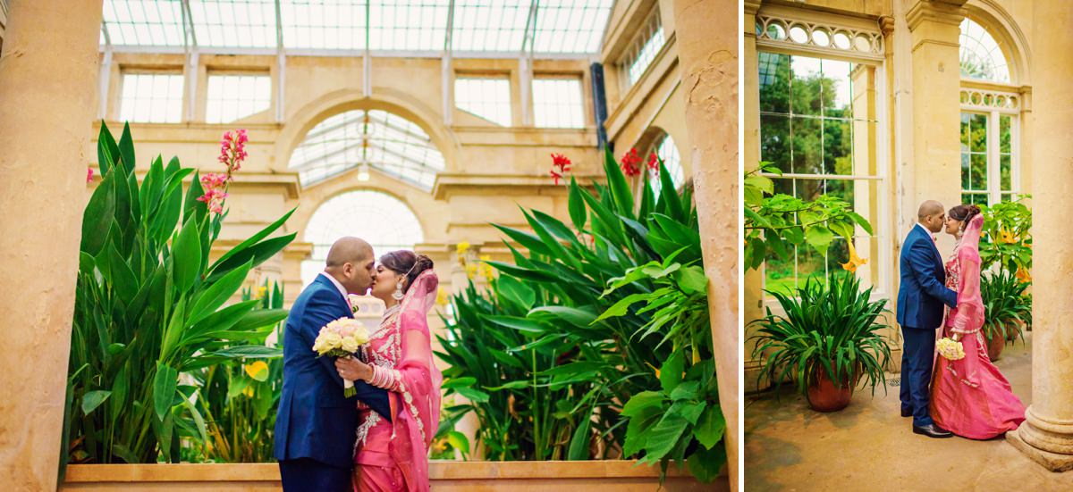 Syon Park Geat Conservatory Wedding Photographer - Edward & Khalima - Photography by Vicki_0020