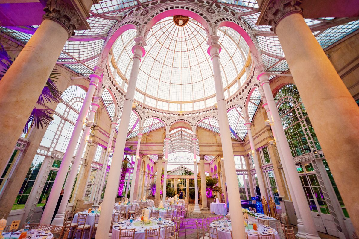 Syon Park Great Conservatory Wedding Photographer - Edward & Khalima - Photography by Vicki_0023