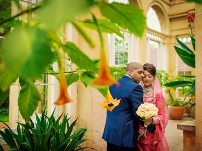 Edward + Khalima | Syon Park Great Conservatory Wedding Photographer