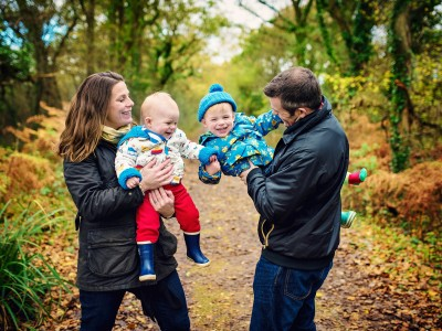 McCamphil-Rose Family | Portsmouth Family Portrait Photographer