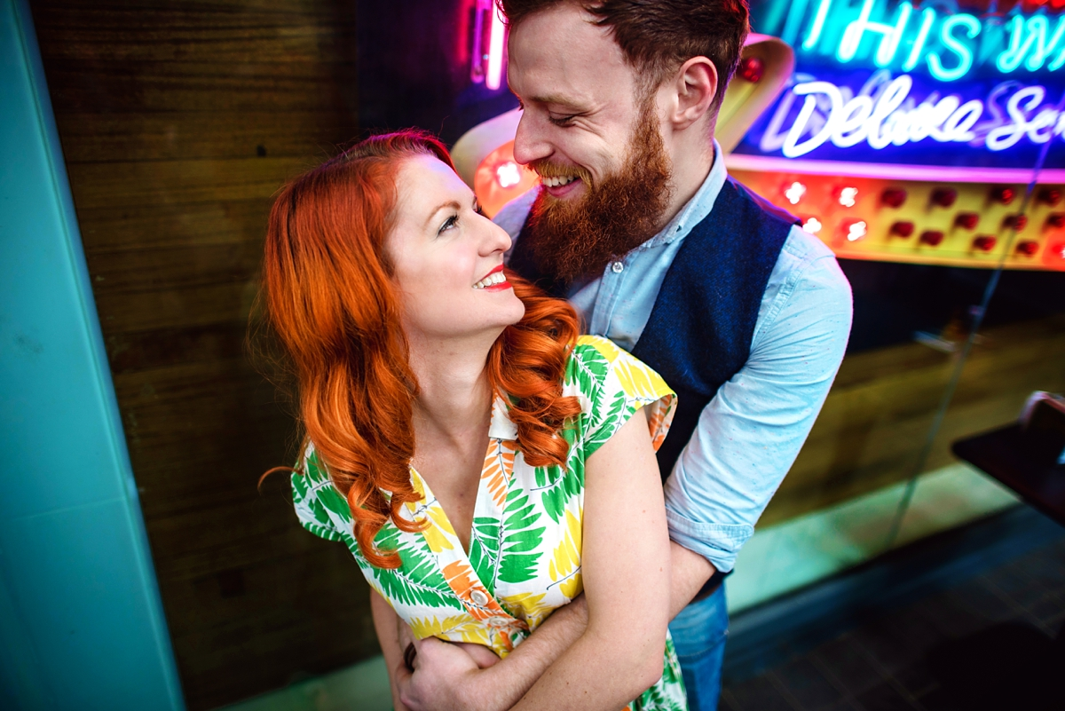 Alternative Wedding Photographer - Brick Lane Engagement Shoot - Photography by Vicki_0006