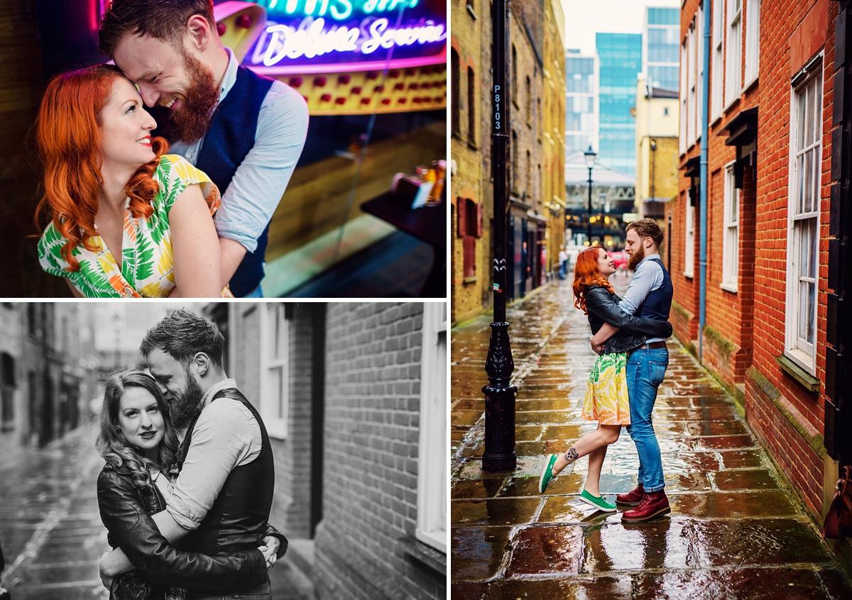 Alternative Wedding Photographer - Brick Lane Engagement Shoot - Photography by Vicki_0007