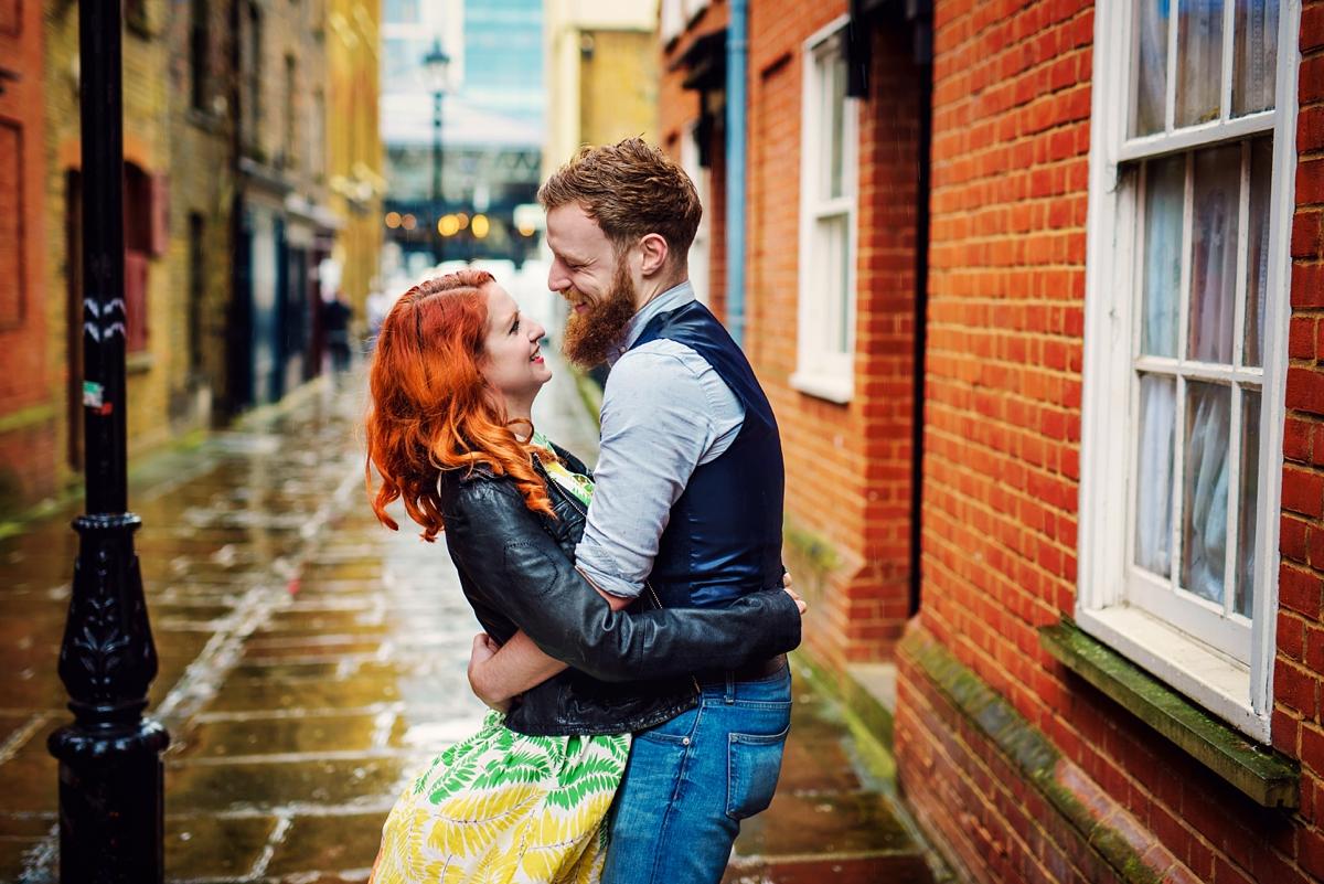 Alternative Wedding Photographer - Brick Lane Engagement Shoot - Photography by Vicki_0008