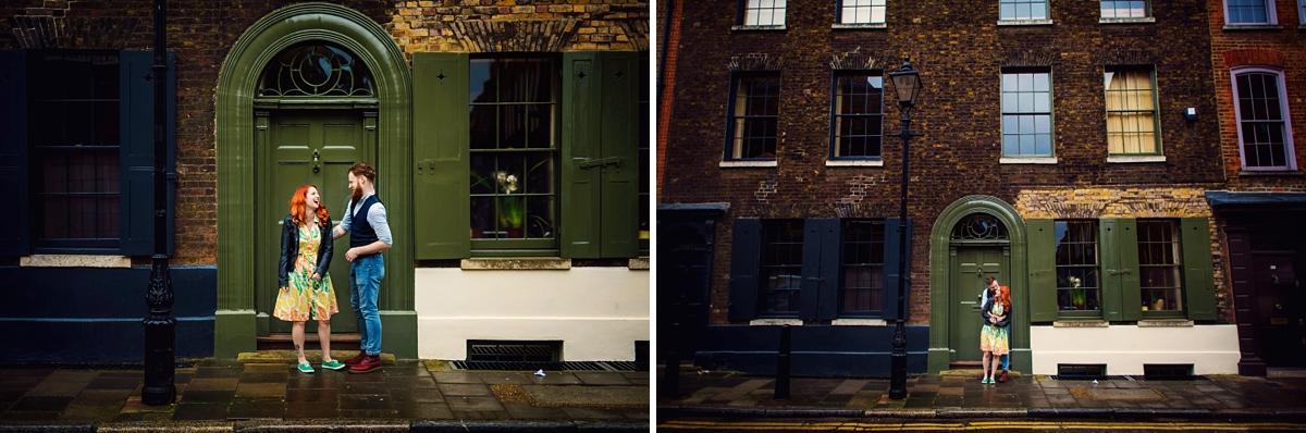 Alternative Wedding Photographer - Brick Lane Engagement Shoot - Photography by Vicki_0010