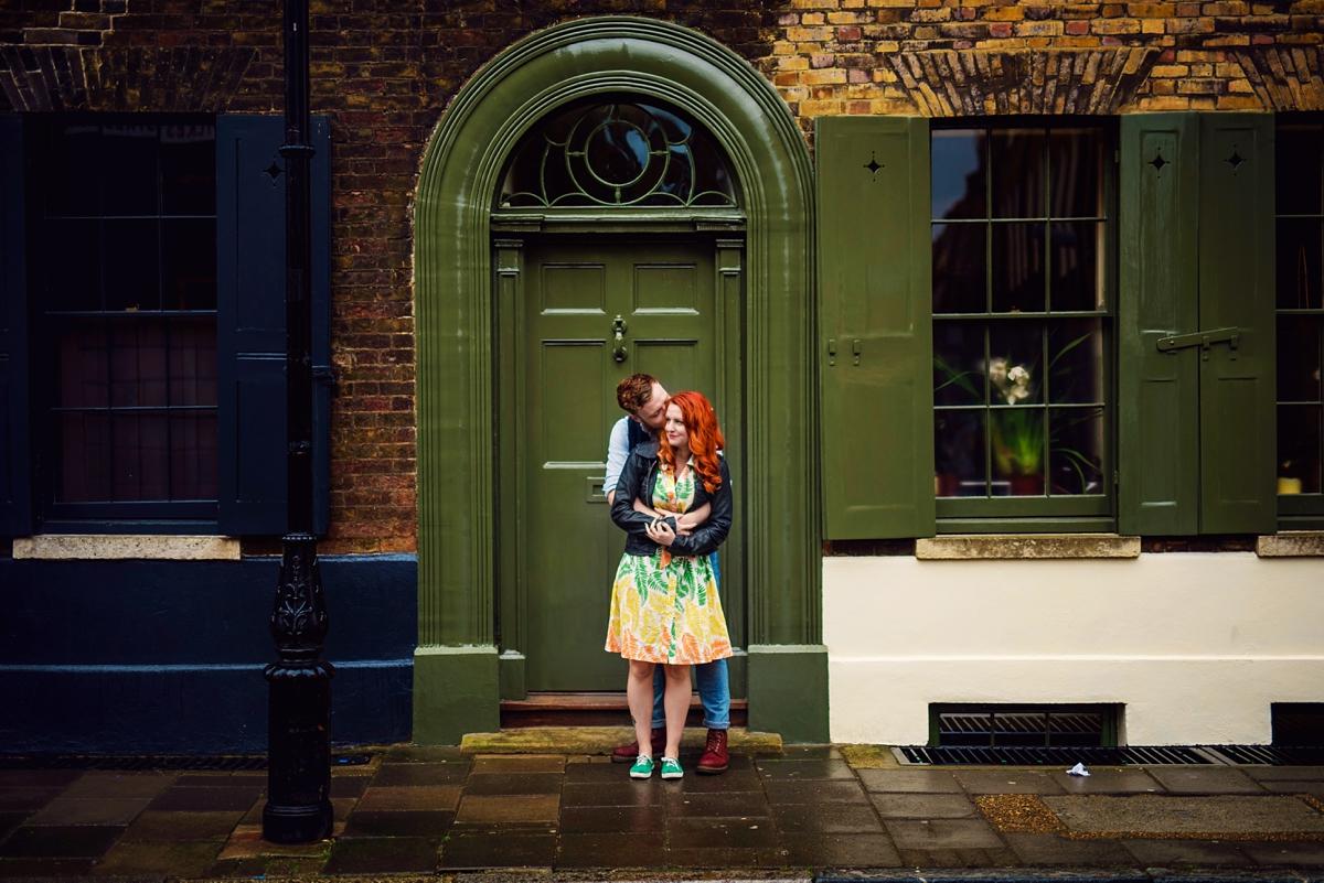 Alternative Wedding Photographer - Brick Lane Engagement Shoot - Photography by Vicki_0011