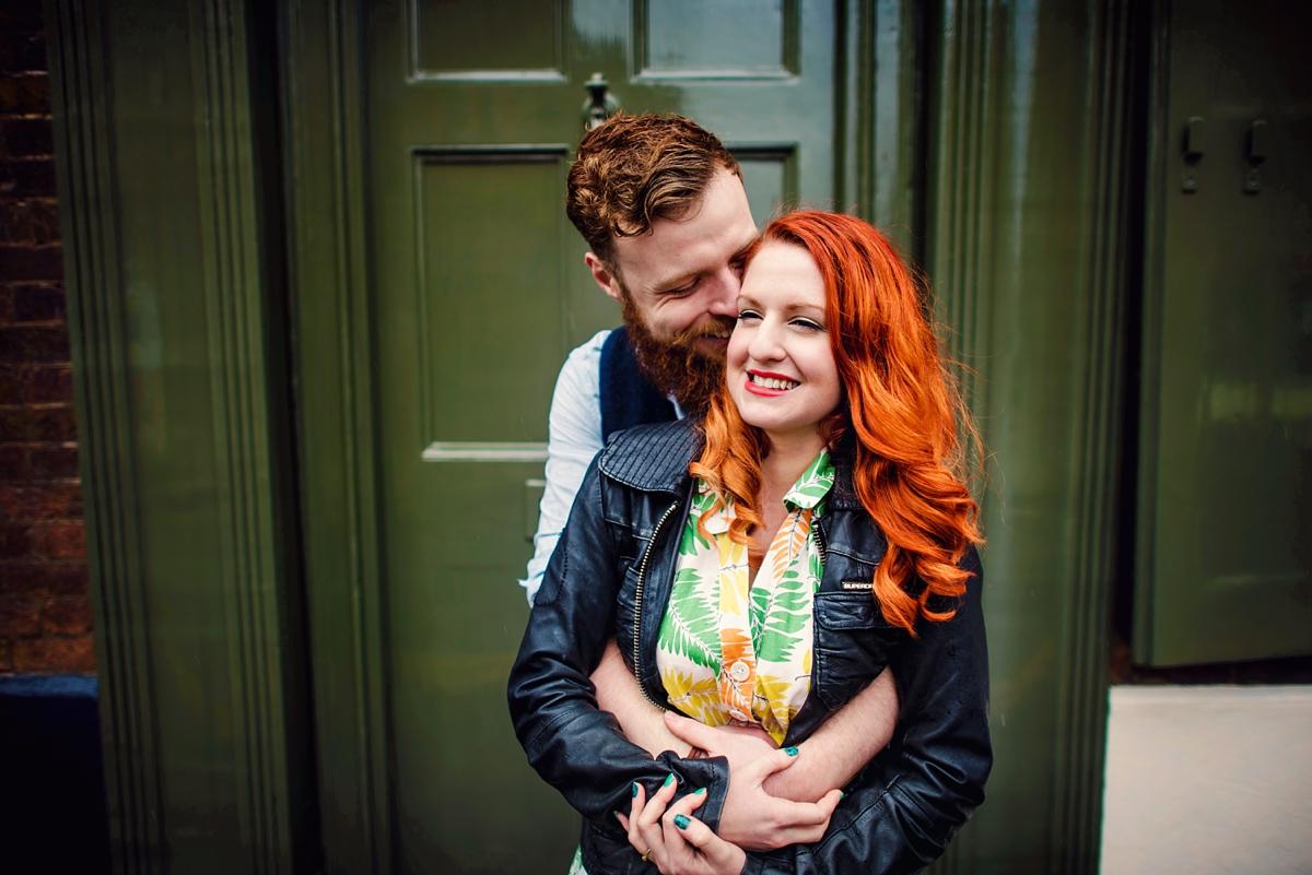 Alternative Wedding Photographer - Brick Lane Engagement Shoot - Photography by Vicki_0012