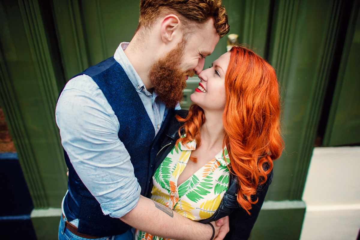 Alternative Wedding Photographer - Brick Lane Engagement Shoot - Photography by Vicki_0013