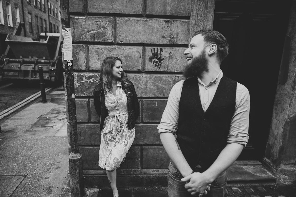 Alternative Wedding Photographer - Brick Lane Engagement Shoot - Photography by Vicki_0015