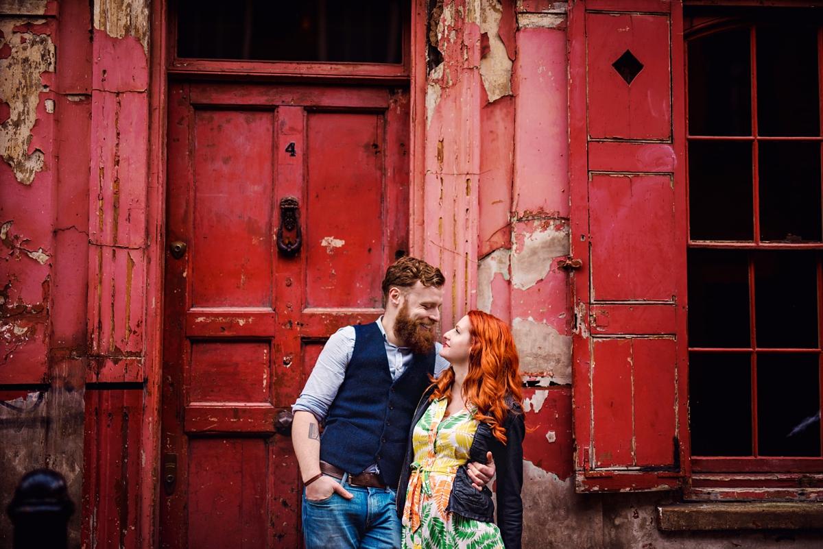 Alternative Wedding Photographer - Brick Lane Engagement Shoot - Photography by Vicki_0017