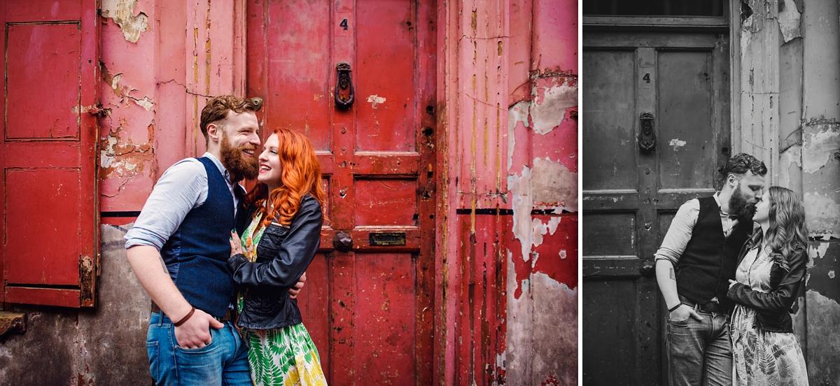 Alternative Wedding Photographer - Brick Lane Engagement Shoot - Photography by Vicki_0018