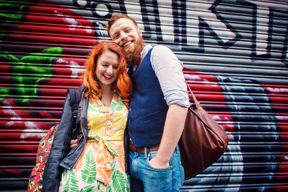 Alternative Wedding Photographer - Brick Lane Engagement Shoot - Photography by Vicki_0019