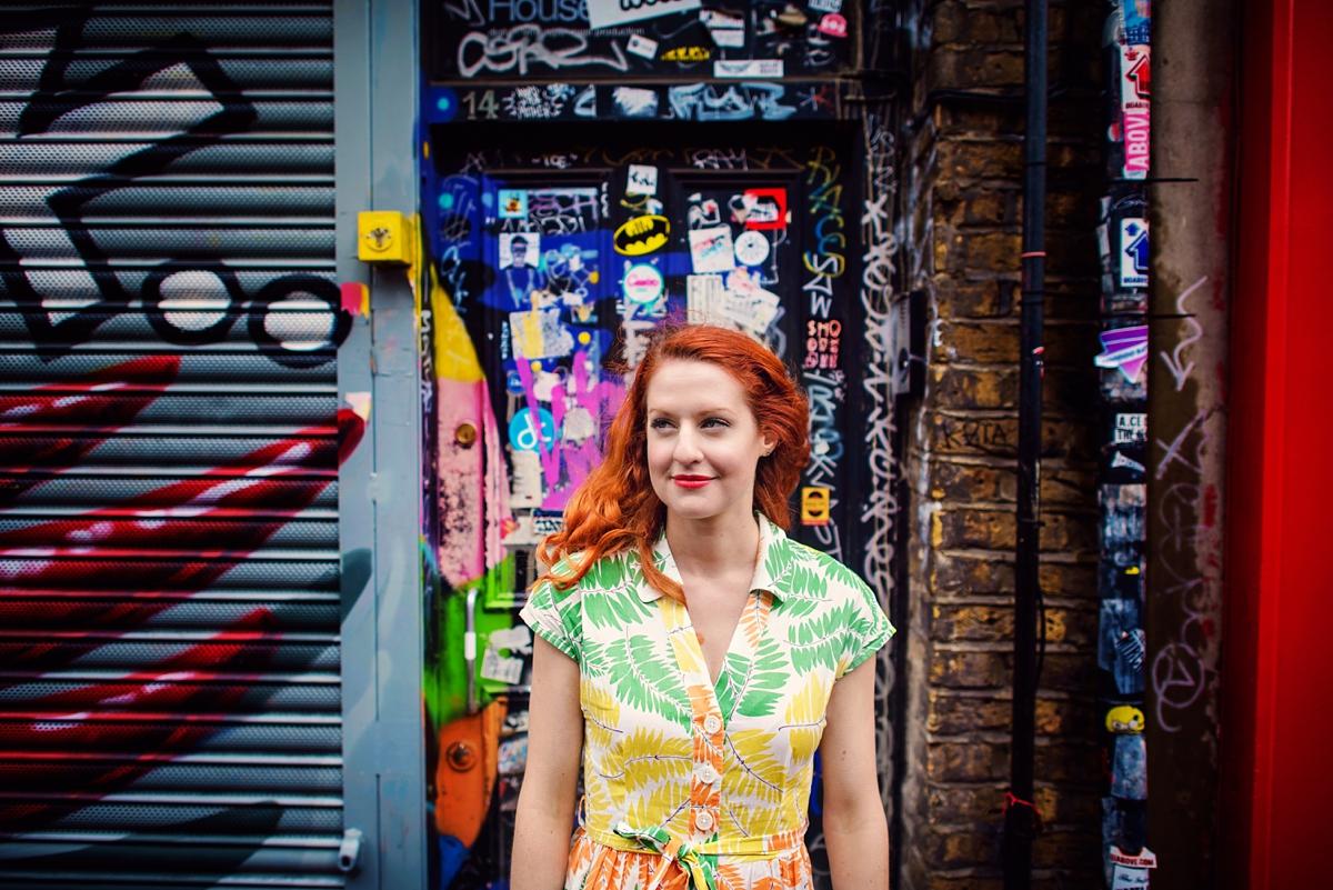 Alternative Wedding Photographer - Brick Lane Engagement Shoot - Photography by Vicki_0022