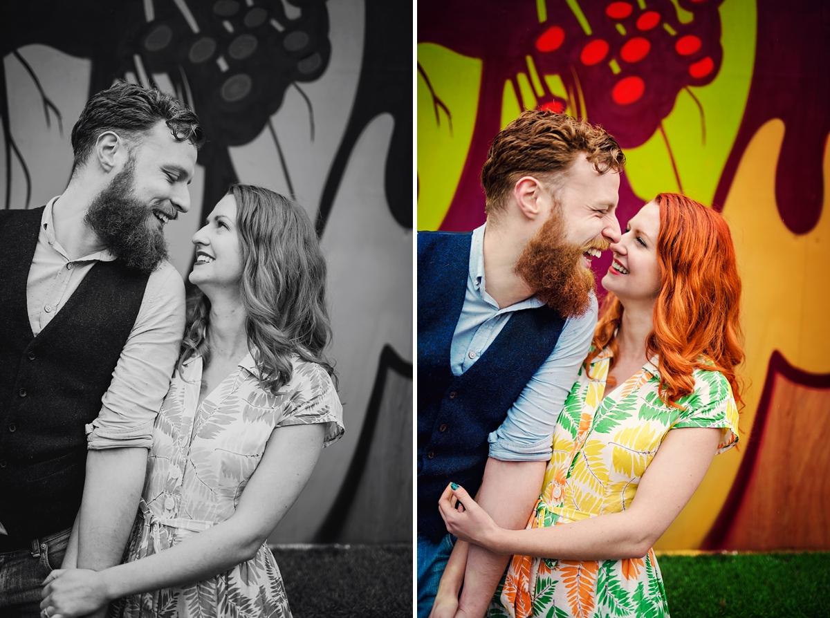 Alternative Wedding Photographer - Brick Lane Engagement Shoot - Photography by Vicki_0025