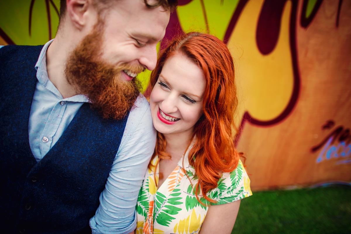 Alternative Wedding Photographer - Brick Lane Engagement Shoot - Photography by Vicki_0026