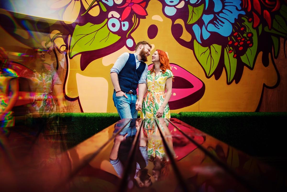 Alternative Wedding Photographer - Brick Lane Engagement Shoot - Photography by Vicki_0027