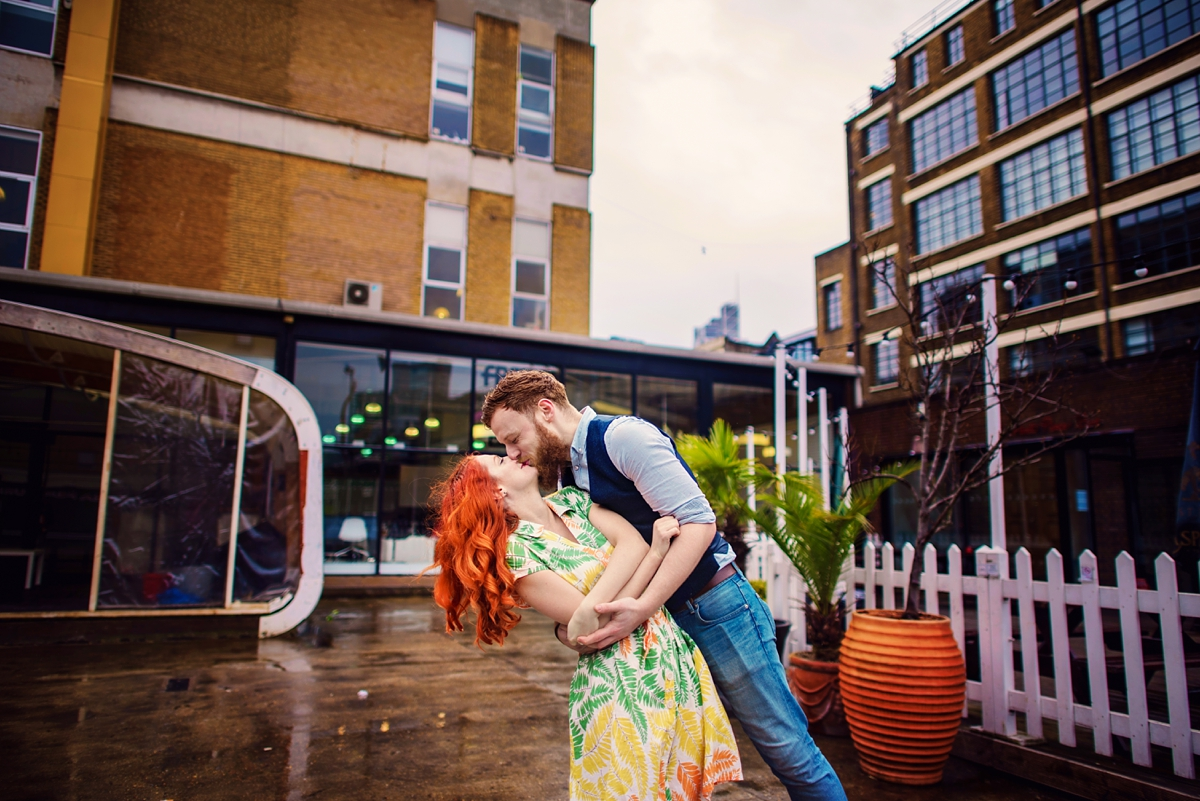 Alternative Wedding Photographer - Brick Lane Engagement Shoot - Photography by Vicki_0033