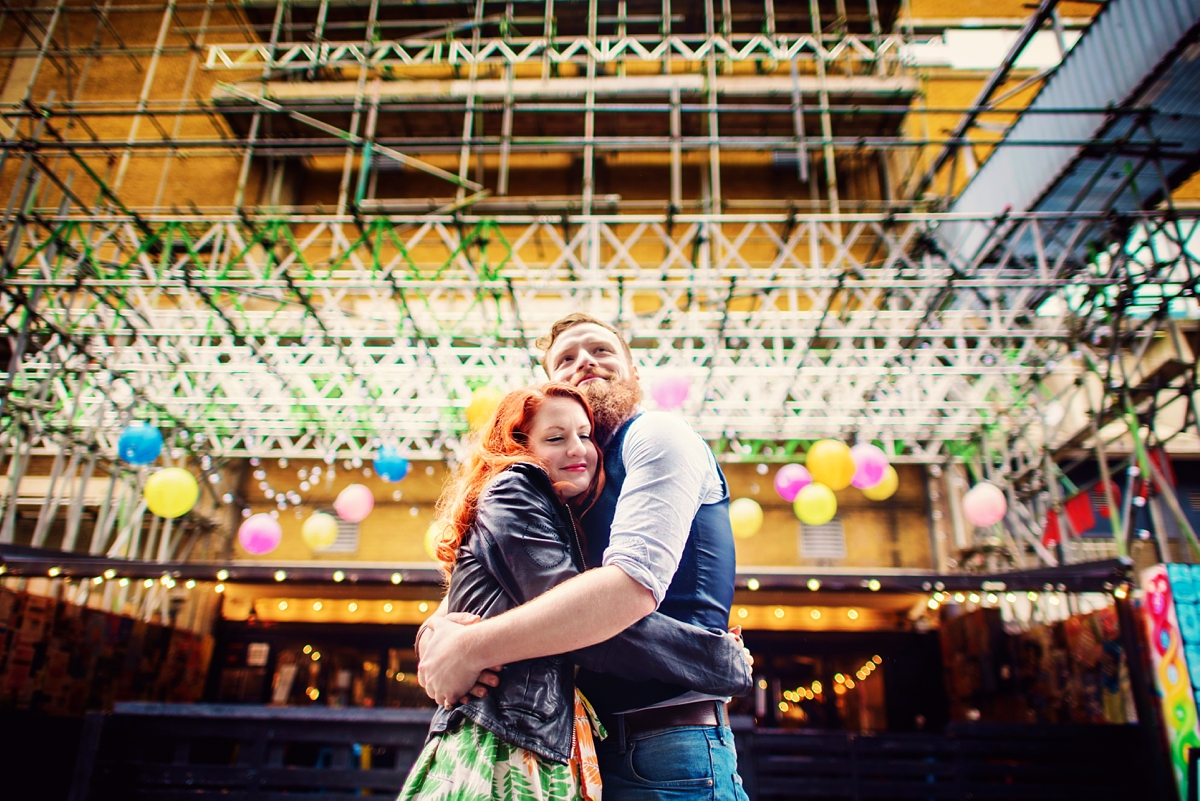 Alternative Wedding Photographer - Brick Lane Engagement Shoot - Photography by Vicki_0034