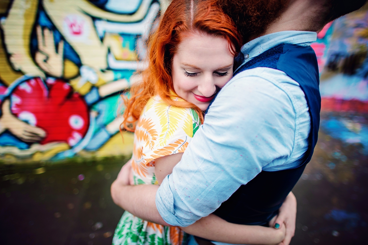 Alternative Wedding Photographer - Brick Lane Engagement Shoot - Photography by Vicki_0041