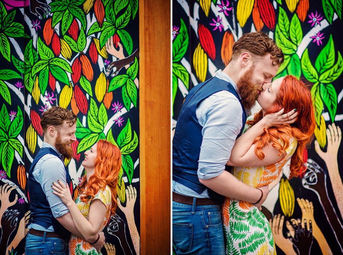 Alternative Wedding Photographer - Brick Lane Engagement Shoot - Photography by Vicki_0045