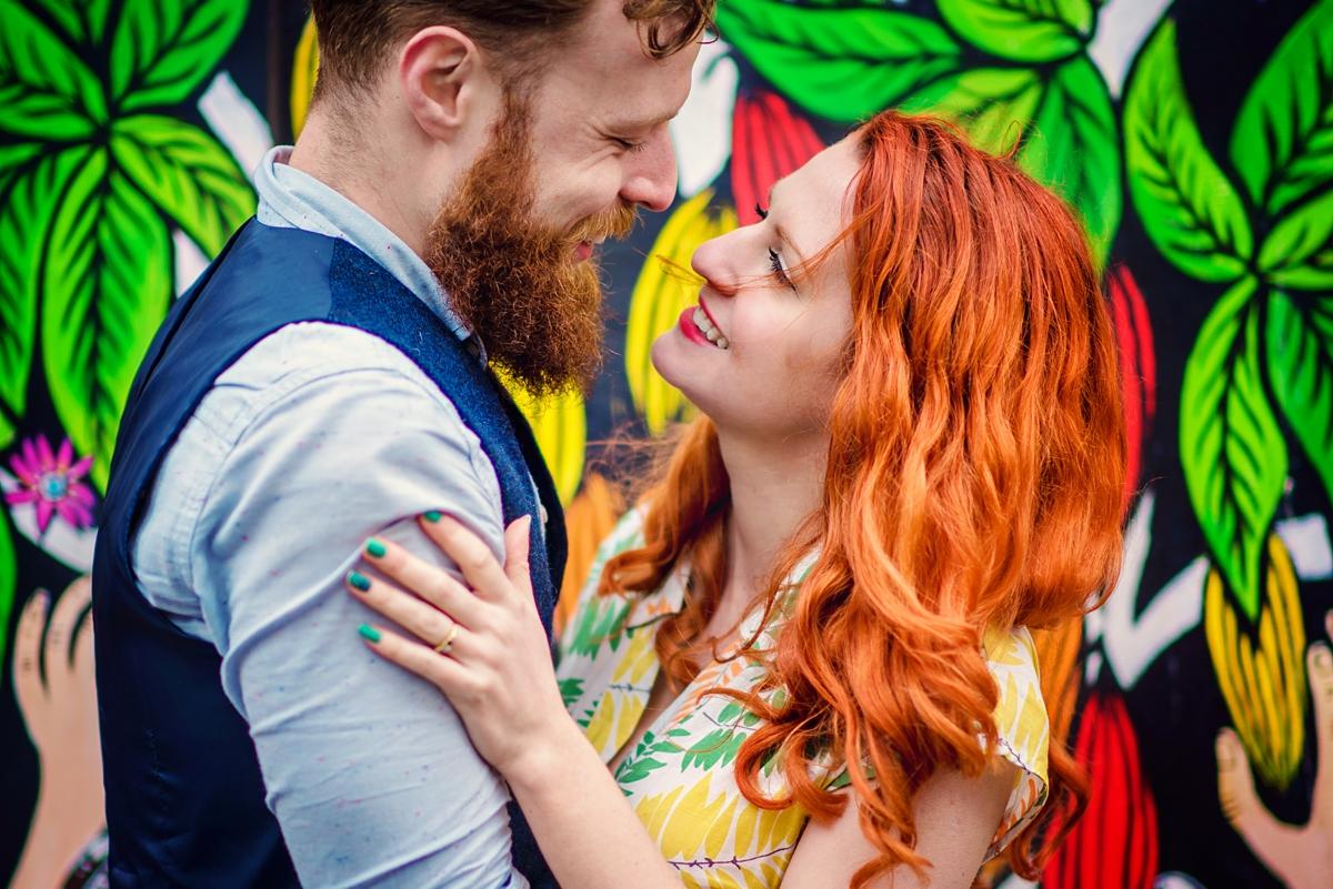 Alternative Wedding Photographer - Brick Lane Engagement Shoot - Photography by Vicki_0046