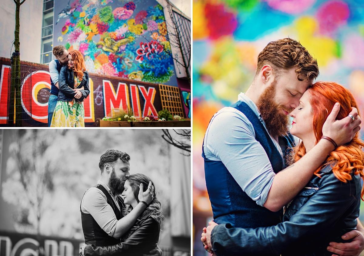 Alternative Wedding Photographer - Brick Lane Engagement Shoot - Photography by Vicki_0048