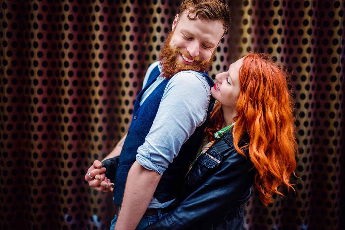 Alternative Wedding Photographer - Brick Lane Engagement Shoot - Photography by Vicki_0056