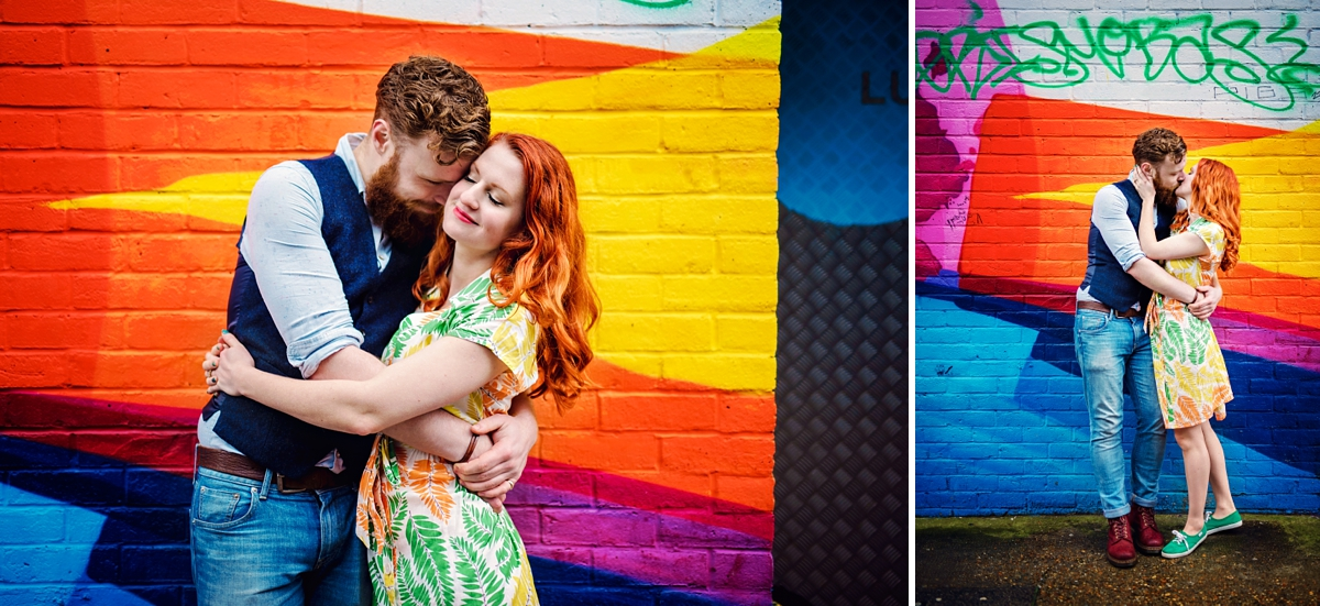 Alternative Wedding Photographer - Brick Lane Engagement Shoot - Photography by Vicki_0057
