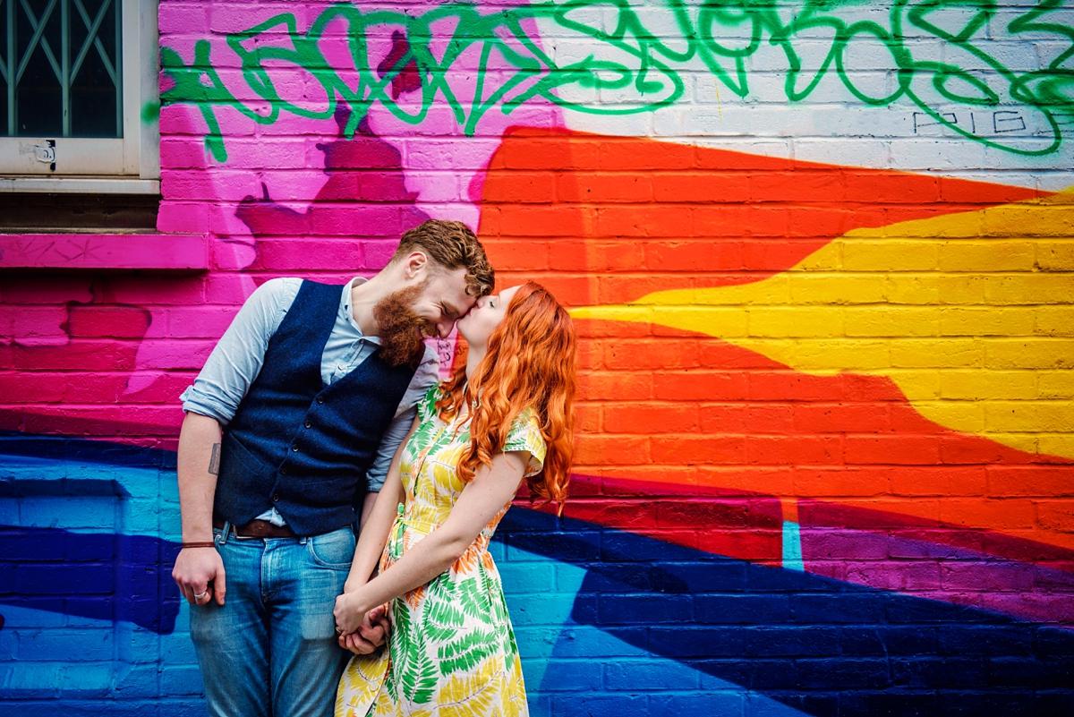 Alternative Wedding Photographer - Brick Lane Engagement Shoot - Photography by Vicki_0058-1