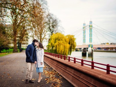 Will + Jemma | Engaged | Chelsea Wedding Photographer