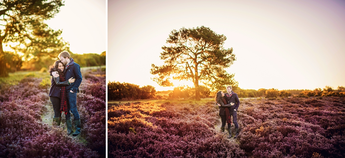 New Forest Wedding Photography - Sunrise Engagement Session - Photography by Vicki-1