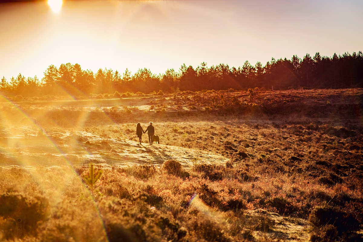 New Forest Wedding Photography - Sunrise Engagement Session - Photography by Vicki-11