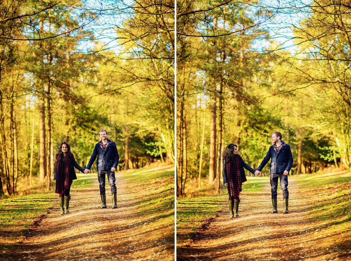 New Forest Wedding Photographer - Sunrise Engagement Session - Photography by Vicki-19