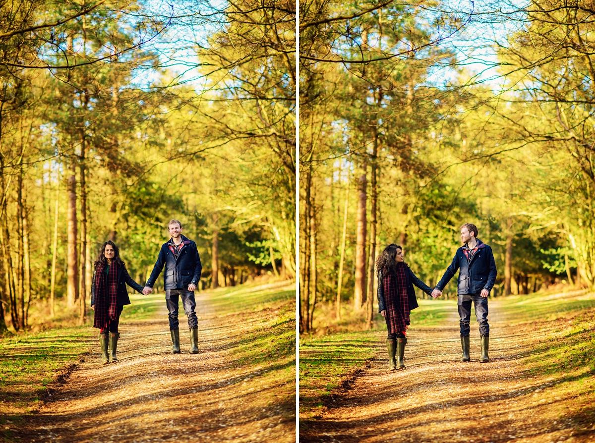 New Forest Wedding Photographer - Sunrise Engagement Session - Photography by Vicki-19