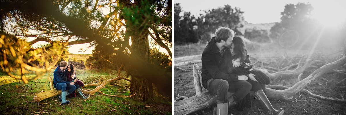 New Forest Wedding Photographer - Sunrise Engagement Session - Photography by Vicki-4