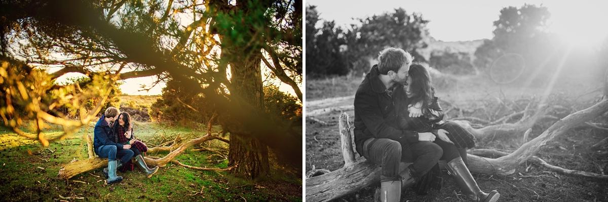 New Forest Wedding Photographer - Sunrise Engagement Session - Photography by Vicki-4